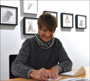 WREN volunteer Kay Kerr
