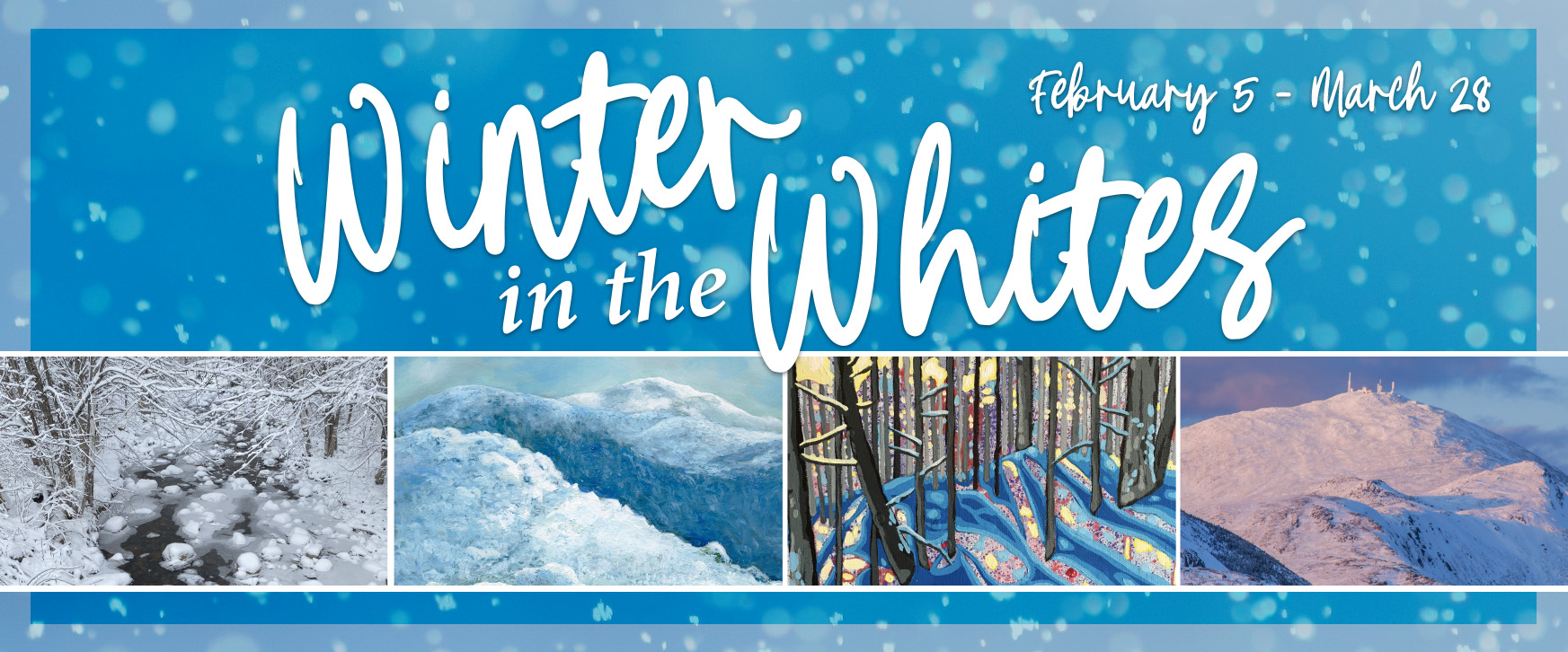 WREN's Winter in the Whites Gallery Exhibition runs from January 5 through March 28