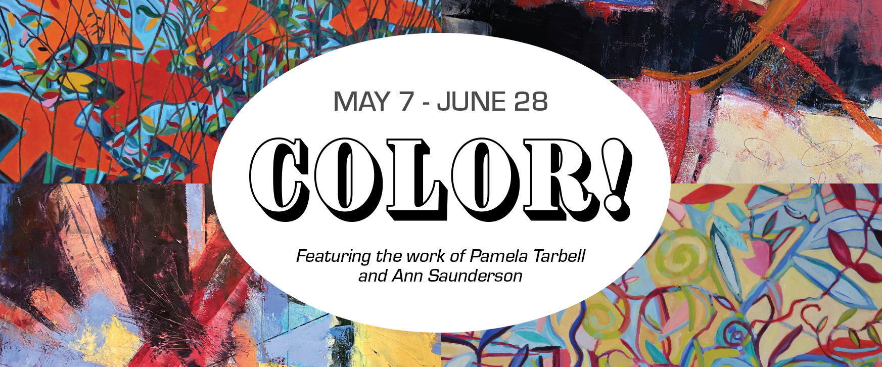 WREN's new exhibition, COLOR! runs from May 7 to June 28