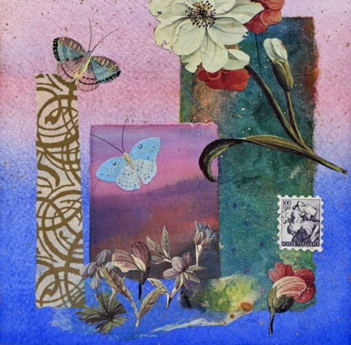 small collage panel