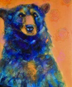 bear painting by rosemary conroy