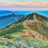 Photograph of Franconia Ridge from Mount Lafayette