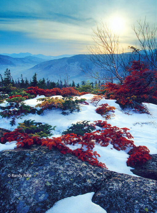 Photograph of Mount Crawford in winter