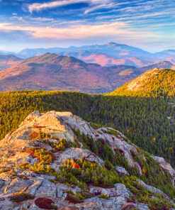 Photograph of the north view from Mount Chocorua