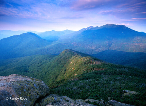 Photograph of the Franconia Range from Mount Garfield